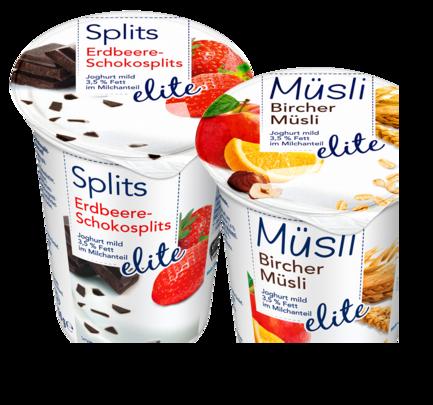Müsli-/Splits-Joghurt, April 2017