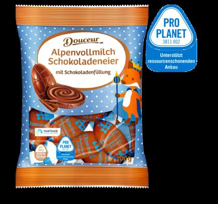 Schokoladeneier mit Füllung, M�rz 2018