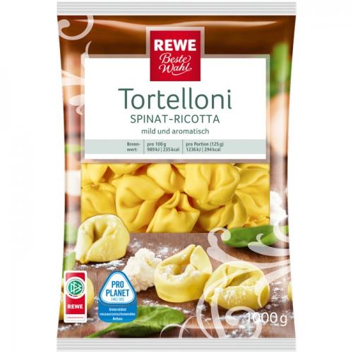 Tortelloni Spinat-Ricotta, M�rz 2017