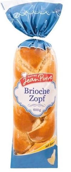 Brioche-Zopf, Juni 2017