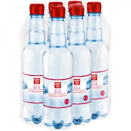 Mineralwasser Still 6x0,5l, April 2017