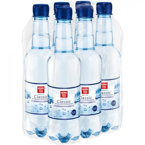 Mineralwasser Classic 6x0,5l, April 2017