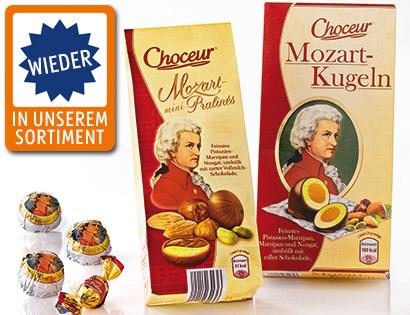 Feine Mozartkugeln, Oktober 2013