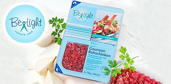 Gourmet-Schinken, gewürfelt, fettreduziert, August 2010