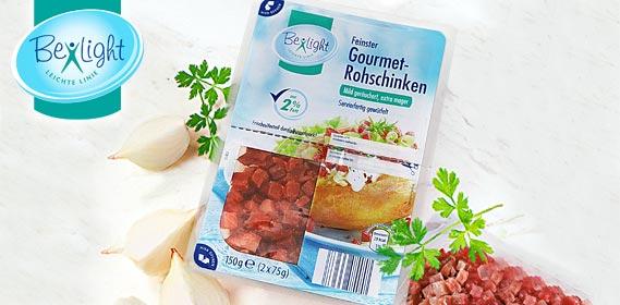 Gourmet-Schinken, gewürfelt, fettreduziert, Februar 2012
