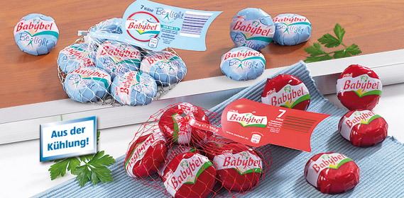 Mini Babybel, 7x 20 g, Oktober 2010