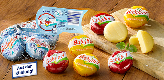 Mini Babybel, 7x 20 g, Januar 2011