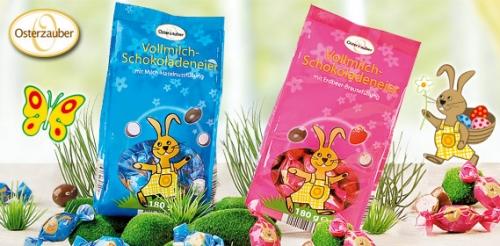 Vollmilch-Schokoladeneier, Februar 2008