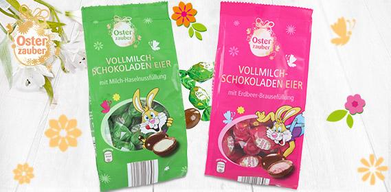 Vollmilch-Schokoladeneier, M�rz 2011