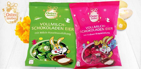 Vollmilch-Schokoladeneier, M�rz 2012