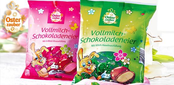 Vollmilch-Schokoladeneier, M�rz 2013