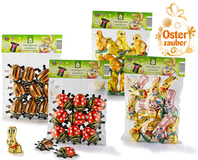 Osterfiguren-Sortiment, Februar 2015