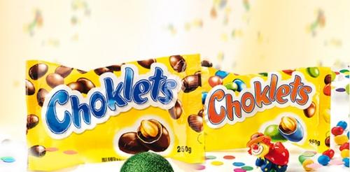 Choklets, Januar 2008