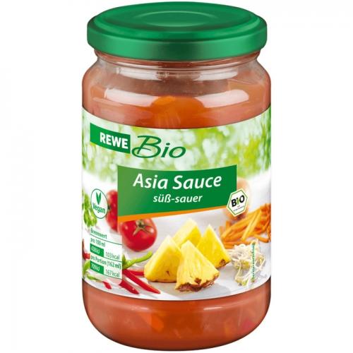 Asia-Sauce süß-sauer, November 2017