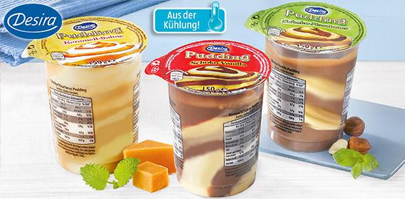 Puddingdessert, gestrudelt, April 2012