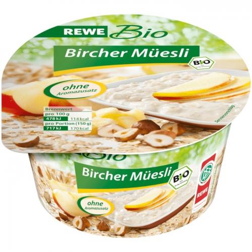 Bircher Müesli, Dezember 2017