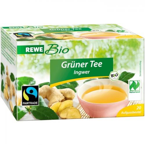 Grüner Kaffee Mit Ingwer rewe bio grüner ingwer rewe