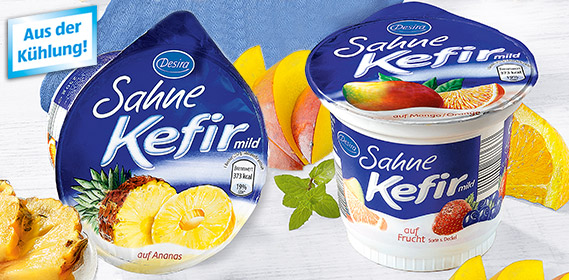 Sahne-Kefir, mild auf Frucht, November 2011
