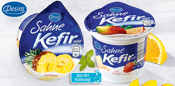 Sahne-Kefir, mild auf Frucht, April 2012