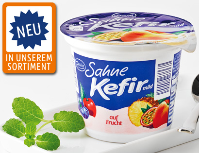 Sahne-Kefir, mild auf Frucht, November 2013