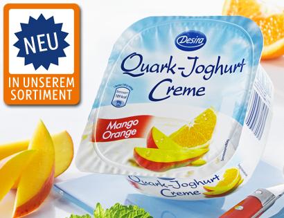 Quark-Joghurt Creme, Mai 2013