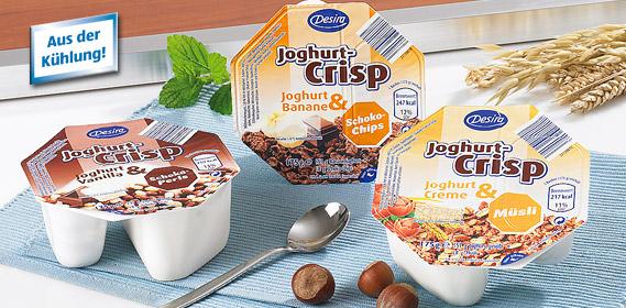 Joghurt-Crisp, Oktober 2010