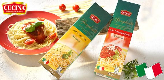 Spaghetti-Fertiggericht, Dezember 2011