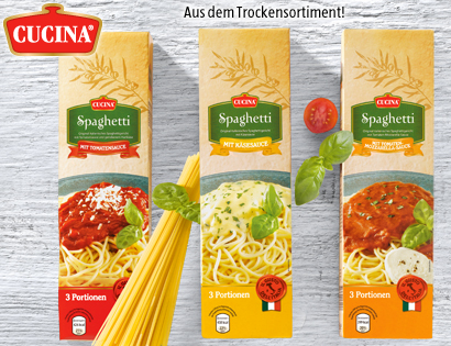 Spaghetti-Fertiggericht, Juni 2013