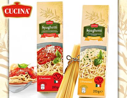 Spaghetti-Fertiggericht, Januar 2014