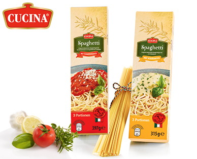 Spaghetti-Fertiggericht, Juli 2014