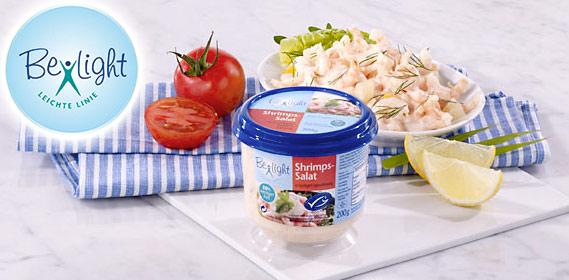 Shrimps-Salat, Februar 2012