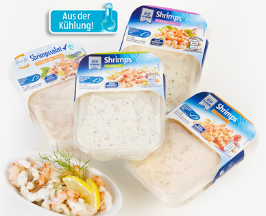 Shrimps-Salat, Januar 2015