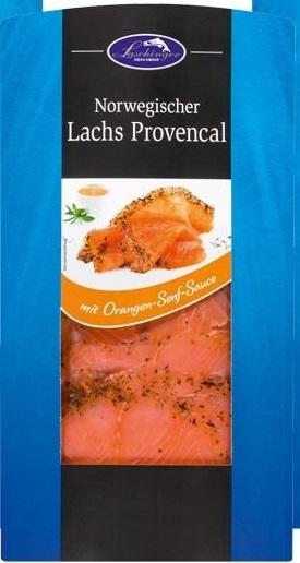 Ocean Sea Norwegischer Lachs Provencal Mit Orangen Senf Sauce Von Lidl