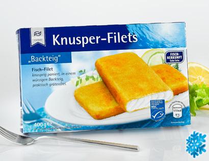 Knusper-Filets, April 2014