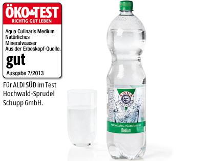 Mineralwasser, September 2013