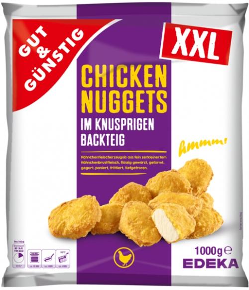 Chicken Nuggets im Backteig, Januar 2018