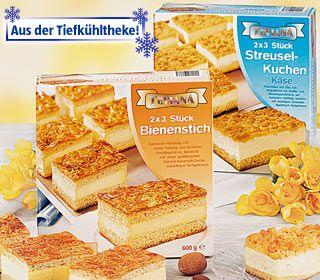 Kuchenschnitte, 6x 100 g, November 2007