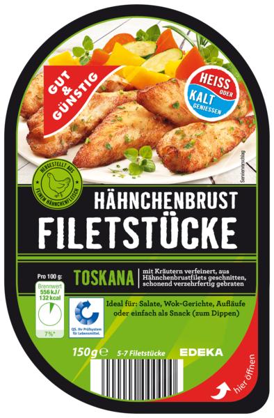 Hähnchenbrust-Filetstücke Toskana, Februar 2018