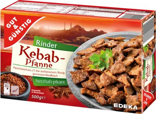 Kebab-Pfanne vom Rind, Februar 2018