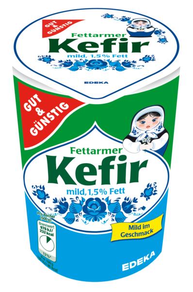 Kefir mild, Februar 2018