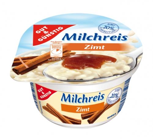 Milchreis Zimt, Februar 2018