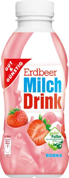Milchdrink Erdbeere, Februar 2018