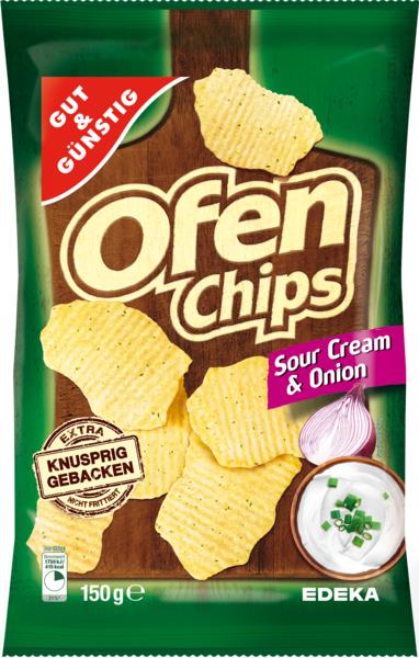 Ofenchips Sour Cream & Onion, Februar 2018