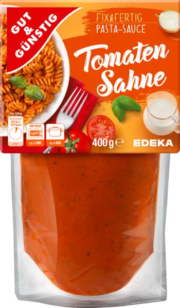 Pasta-Sauce Tomaten-Sahne, Februar 2018
