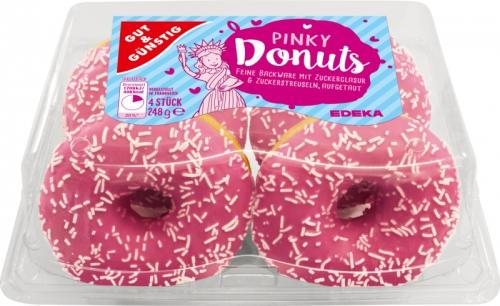 Pinky Donuts, Februar 2018