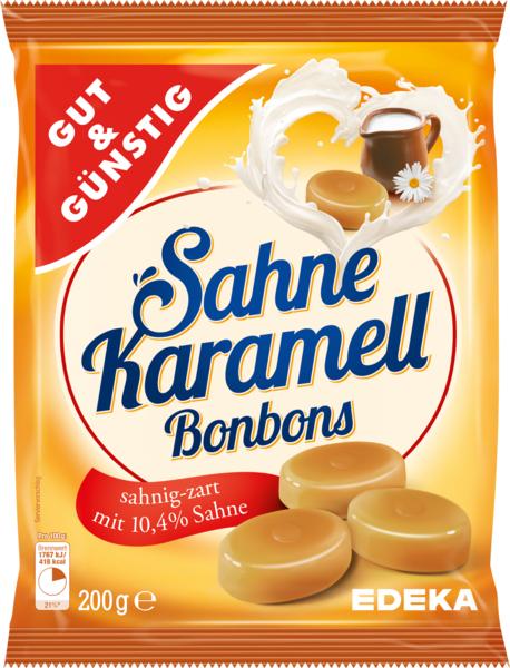 Sahne-Karamellbonbons, Februar 2018