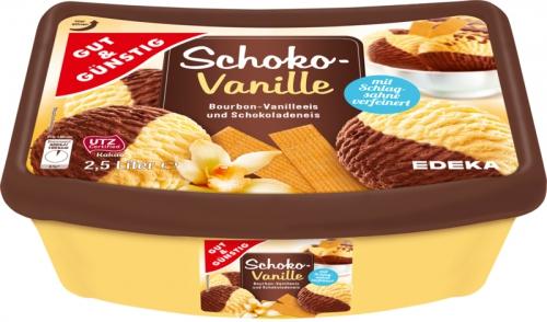 Schoko-Vanilleeis, Februar 2018