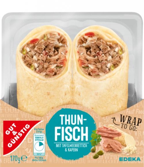 Wrap Thunfisch, Februar 2018
