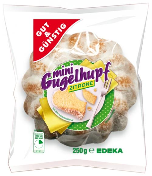Mini-Gugelhupf Zitrone, Februar 2018