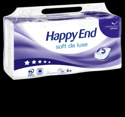 Toilettenpapier soft de luxe 5-lagig, 129 Blatt, Februar 2018